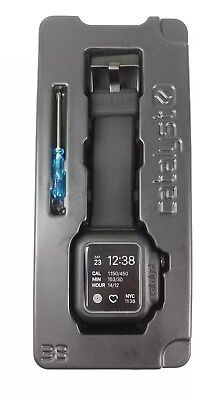 GENUINE Catalyst Waterproof Case/Band for 38mm Apple Watch Series 2 & 3 #CAT3