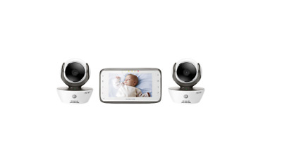 Motorola MBP854CONNECT-2 Dual Mode Baby Monitor with 2 Cameras and 4.3-Inch LCD