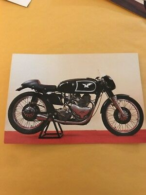 Vtg 1955 Matchless G45 500cc National Motorcycle Museum Postcard