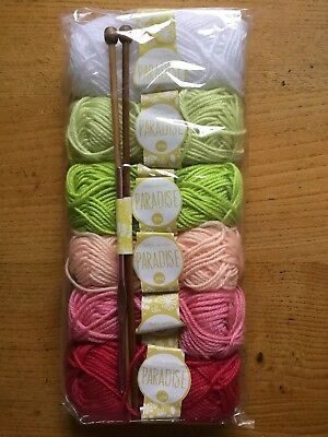 Colourful Knitting Wool & Needles