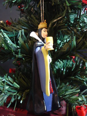 Snow White & Seven Dwarfs Evil Queen Deluxe Disney Custom Christmas Ornament New