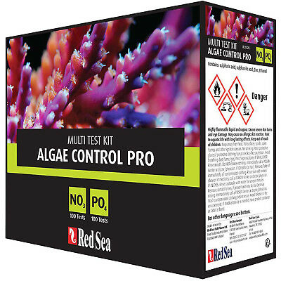 Red Sea Test Kit Algae Control Nitrate Phosphate Pro Multi Kit Free USA Shipping