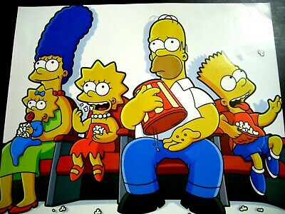 The SIMPSONS Popcorn 16x20 Poster