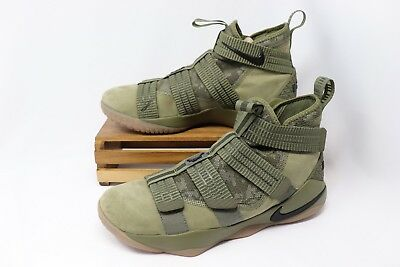 d986a0d02204 Nike Lebron Soldier XI 11 SFG Basketball Shoes Olive Black 897646-200 Men s  NEW
