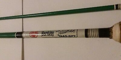 Vintage Berkley Talisman Fly Rod TA40-8FT 8' 2pc Fishing nice Collectible RARE