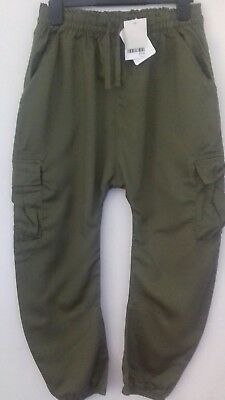 NEW NEXT Age 10 (140cm) Cargo Style Trousers....Free P& P!!