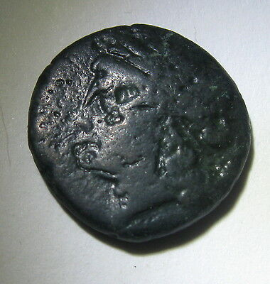 Ancient GREEK Coin, 4.0 gm 17 mm,  About 200 B C, Unidentified