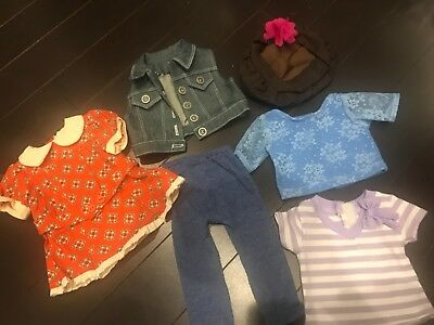 "6 American Girl Truly me Joyful Jewels Battat Outfit for 18"" Dolls"