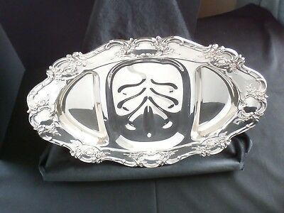 Towle Silverplate Meat Platter w/Sections
