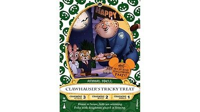 Disney Sorcerers of the Magic Kingdom, Clawhauser's Halloween Party Card of 2016