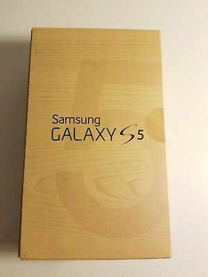 Samsung Galaxy s5 16GB Box Only with manual Rare Collectible NO PHONE Included