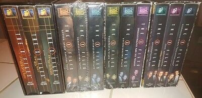 X Files VHS Lot of 12  -  3 still sealed