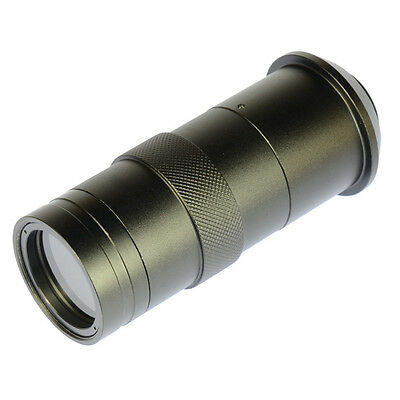 Industry Lens 8X-100X 55mm-290mm C-mount Zoom for Lab Microscope Camera