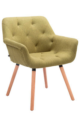 Chair Waiting CASSIDY with Lining Fabric - chair Living room with 4 Legs wooden