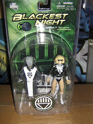 BLACK LANTERN TERRA & SCAR DC Direct Blackest Night Series 7 Action Figure *MIP*