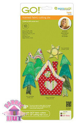 Accuquilt GO! Fabric Cutting Die Home by Stacy Michell Quilt Sew 55379
