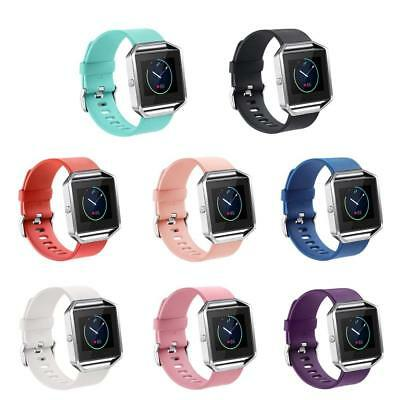 Soft Silicone Replacement Spare Band Strap Twill for Fitbit Blaze