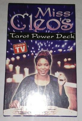 Miss Cleo's Tarot Cards Power Deck. Brand New/Sealed.