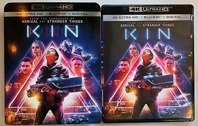 Kin 4K Ultra Hd Blu Ray 2 Disc Set + Slipcover Sleeve Free World Wide Shipping