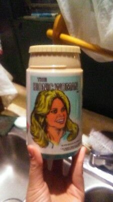 Vintage 1978 The Bionic Woman Thermos