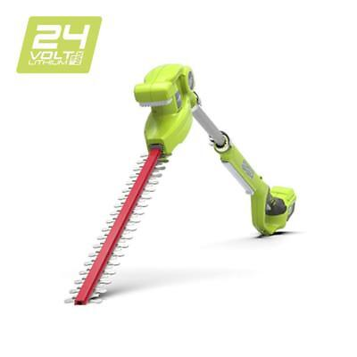 """Greenworks 24V Cordless Pole Hedge Trimmer 51cm (20"""") - Battery and charger..."""