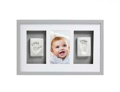 Pearhead Babyprints Newborn Baby Handprint and Footprint Deluxe Wall Photo...