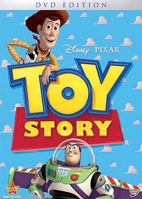 Toy Story Dvd - Single Disc Edition - New Unopened - Disney Pixar - Tom Hanks