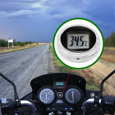 Digital Thermometer Crystal Clear Exquisite Stick On Celsius for Car Motorcycle