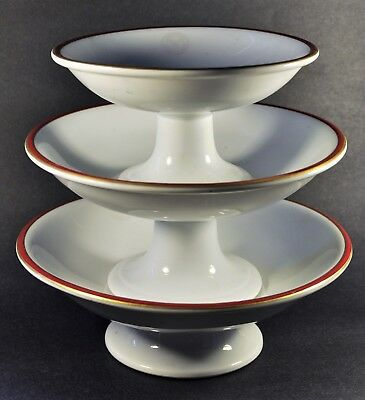 Medinah Athletic Club, Chicago, Antique Cake Plates or Servers, Bauscher China