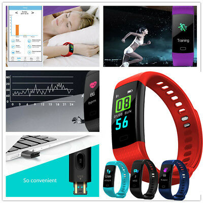 Sports Smart Watch Waterproof Fitness Activity Tracker With Heart Rate Monitor