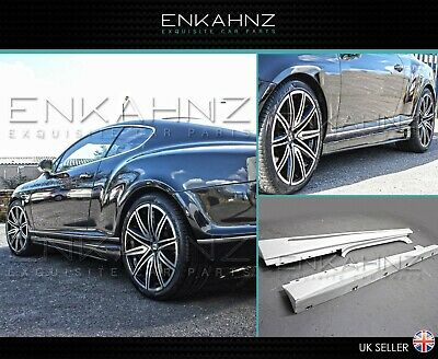 Bentley Continental GT GTC Super Sport SIDE SKIRTS - Bodykit Facelift