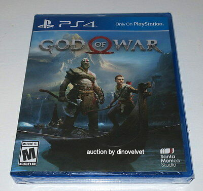 God Of War Sony Ps4 Playstation 4 Brand New Factory Sealed Game !