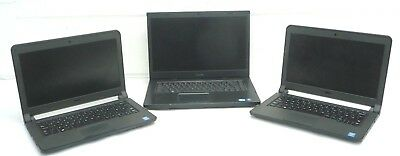 Job Lot of 3 x Dell Core i3 Laptops (3340, 3350, Vostro 3550) *Spares/Repairs*