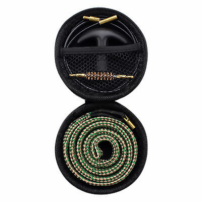 Gun Bore Cleaner Snake Brush Barrel Rope Cleaning Kit for Rifle .30 Cal/7.62MM