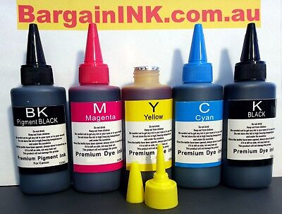 Premium refill ink for Canon MG7765 MG7766 MG5765 CLI-671 PGI-670 cartridges