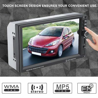 7'' HD 2DIN Bluetooth Touch Screen Car Stereo Radio MP5 Player USB/AUX/TF/FM US