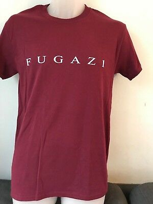 FUGAZI THIRTEEN SONGS LOGO T SHIRT punk hardcore vinyl flipper DOA TSOL cd