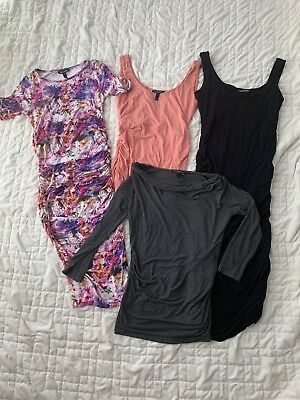 Amazing Lot Of Isabella Oliver Pregnancy Maternity Tops/Shirts And Dresses Xs