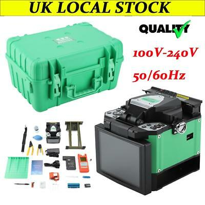 UK A-80S FTTH Fiber Optic Welding Splicing Machine Optical Fiber Fusion Splicer