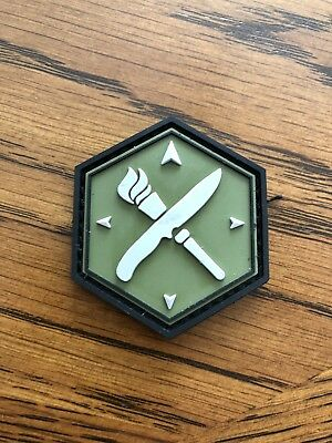Official Gideonstactical PVC Patch/Free shipping/made by Mil-Spec Monkey