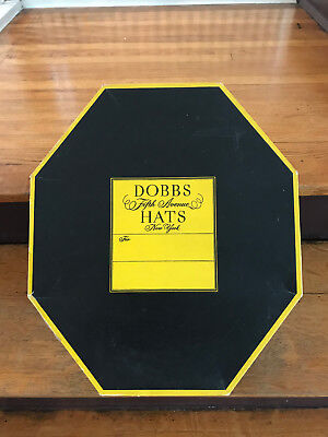 Vintage Hat Dobbs Fifth Avenue New York -  Box Only