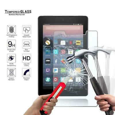 For Amazon Fire 7 7th Gen 2017 with alexa Tablet Tempered Glass Screen Protector