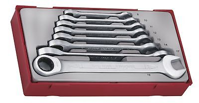 Teng Tt6508Rs 8 Piece Ratchet Spanner Set