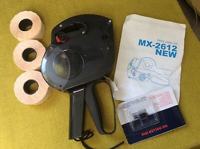 Retail Shop Price Gun, Pricing Label Machine MX-2612