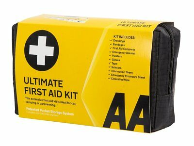 First Aid Kit Ultimate AA Medical Emergency Bag Taxi Home Car Van Truck Caravan