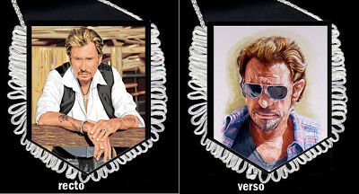 fanion collector JOHNNY HALLYDAY PORTRAITS