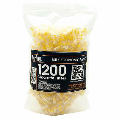 Disposable Cigarette Filters, 1200 Filters Bulk Economy Pack | Cut The Nic