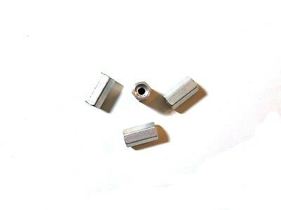 M3 x 12mm Aluminum Threaded Standoffs (4 pcs)