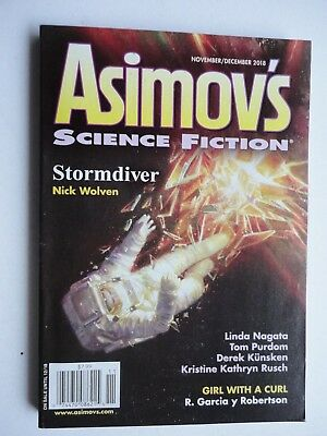 Asimov's SF 2018 Nov/Dec NEW Copy current issue SF Magazine - Stories & Poems