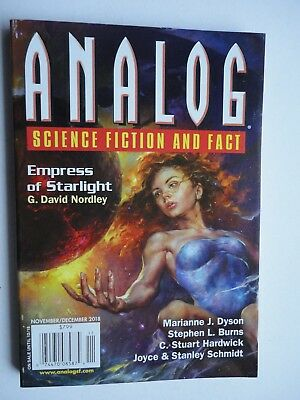 Analog SF 2018 Nov/Dec NEW Copy current double  issue SF & Fact magazine